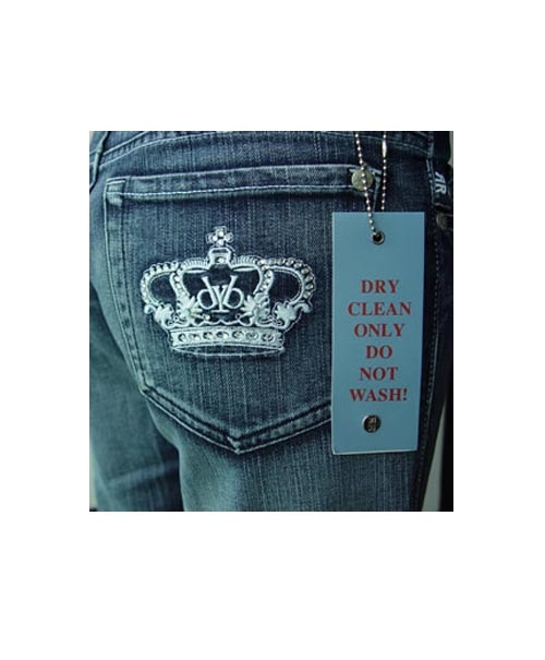 $17.5  Rock & Republic Victoria Beckham Crystal Crown Jeans