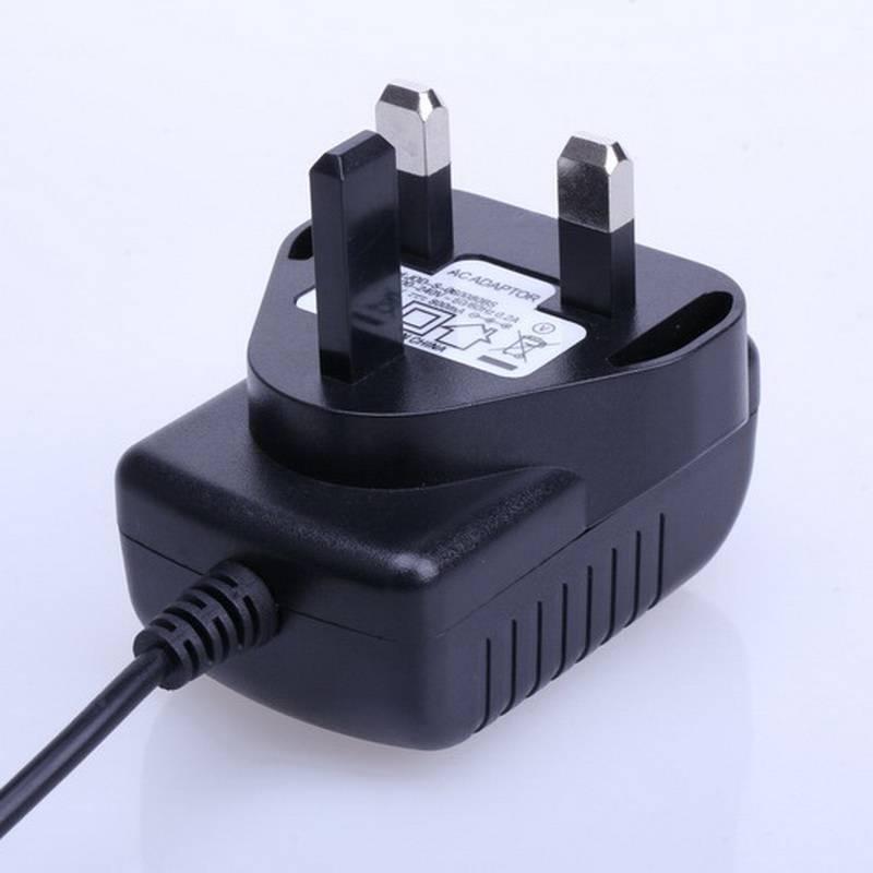 AC 100V-240V Converter Adapter DC 15V 100mA Power Supply BS Plug DC 5.5mm x 2.1mm 1000mA with EN6095