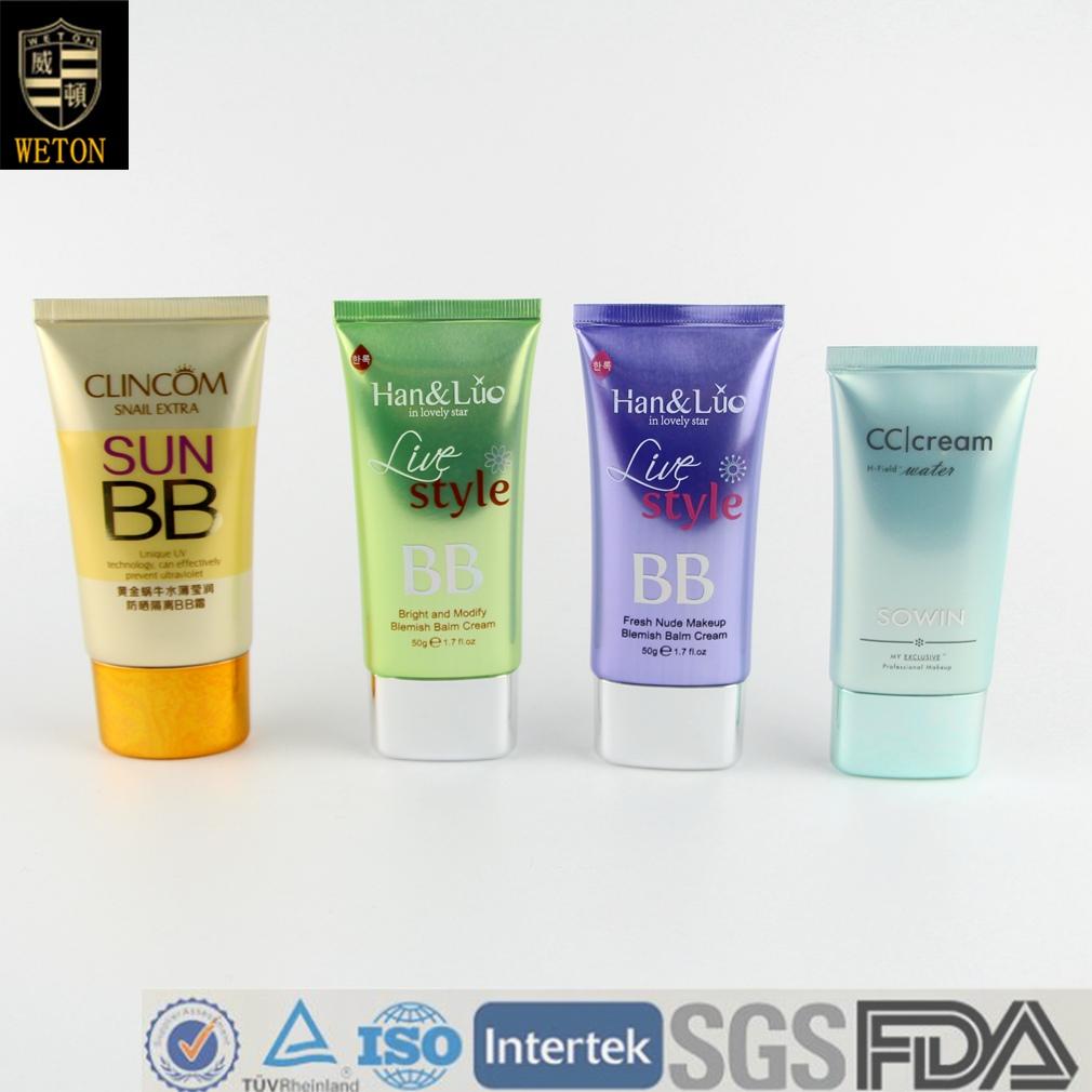 CC Cream BB Cream Polyfoil Tube