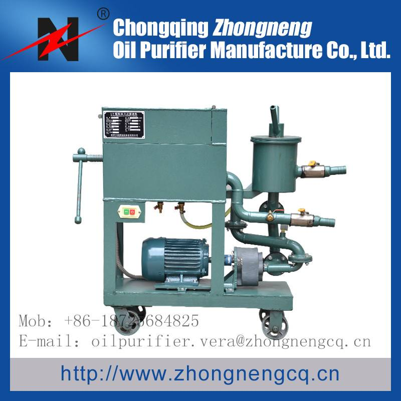 LY Series Portable plate pressure Oil Filtering System machine/Oil filtration