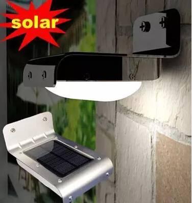 Solar Panel 16LED Solar Lamp Solar Power LED Light Outdoor Solar Lamp Spotlight Garden Light