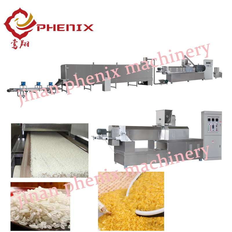 artificial nutrition rice extrusion making machine