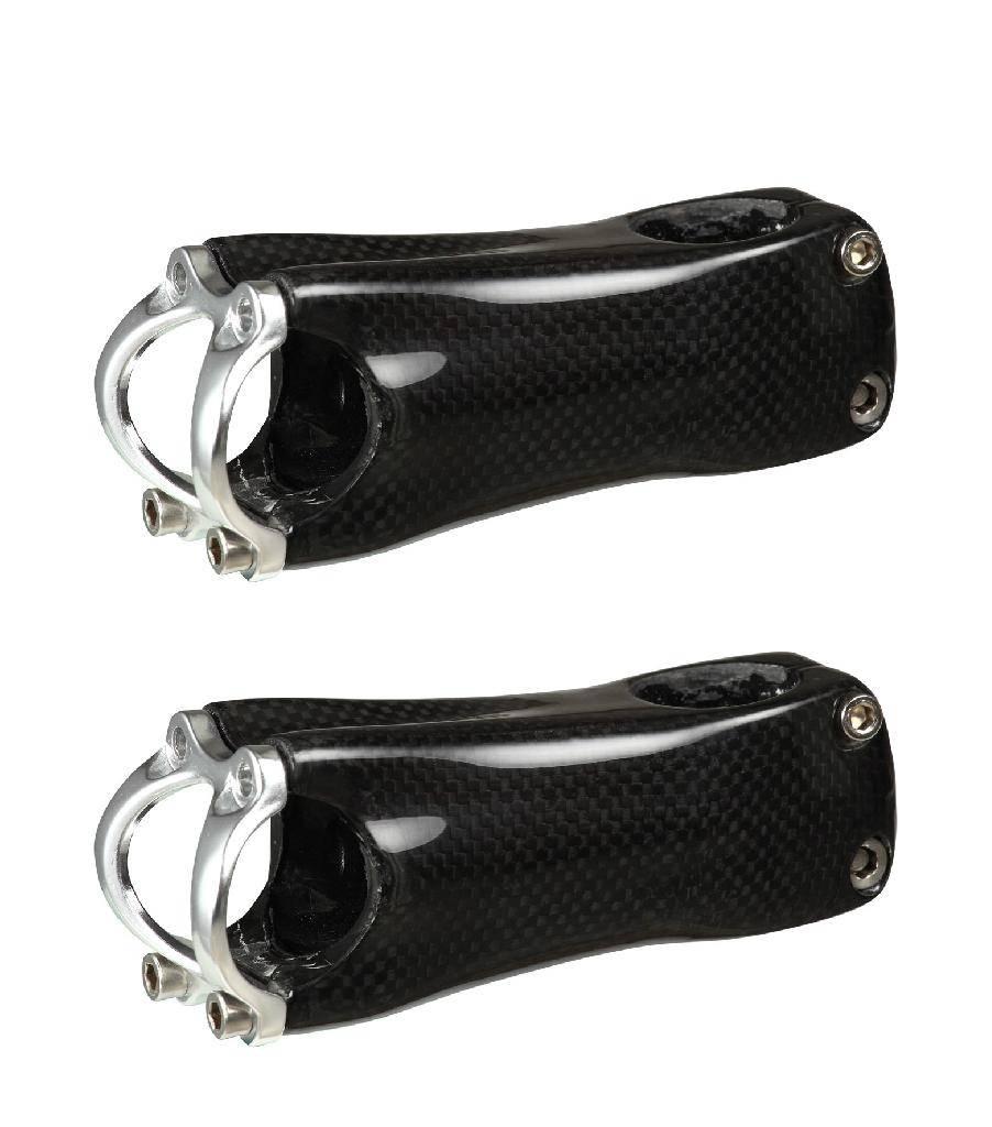 black bicycle stem bicycle parts