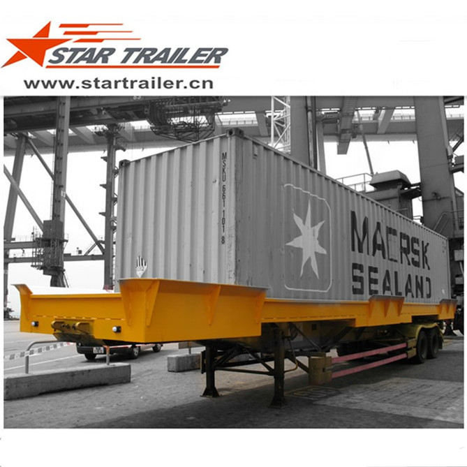 45 FT Port Chemical Tray Trailer