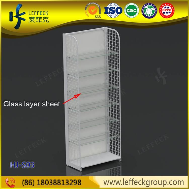 Supermarket and shop display stands system cases