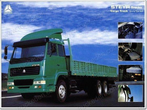howo  cargo  truck 6x4