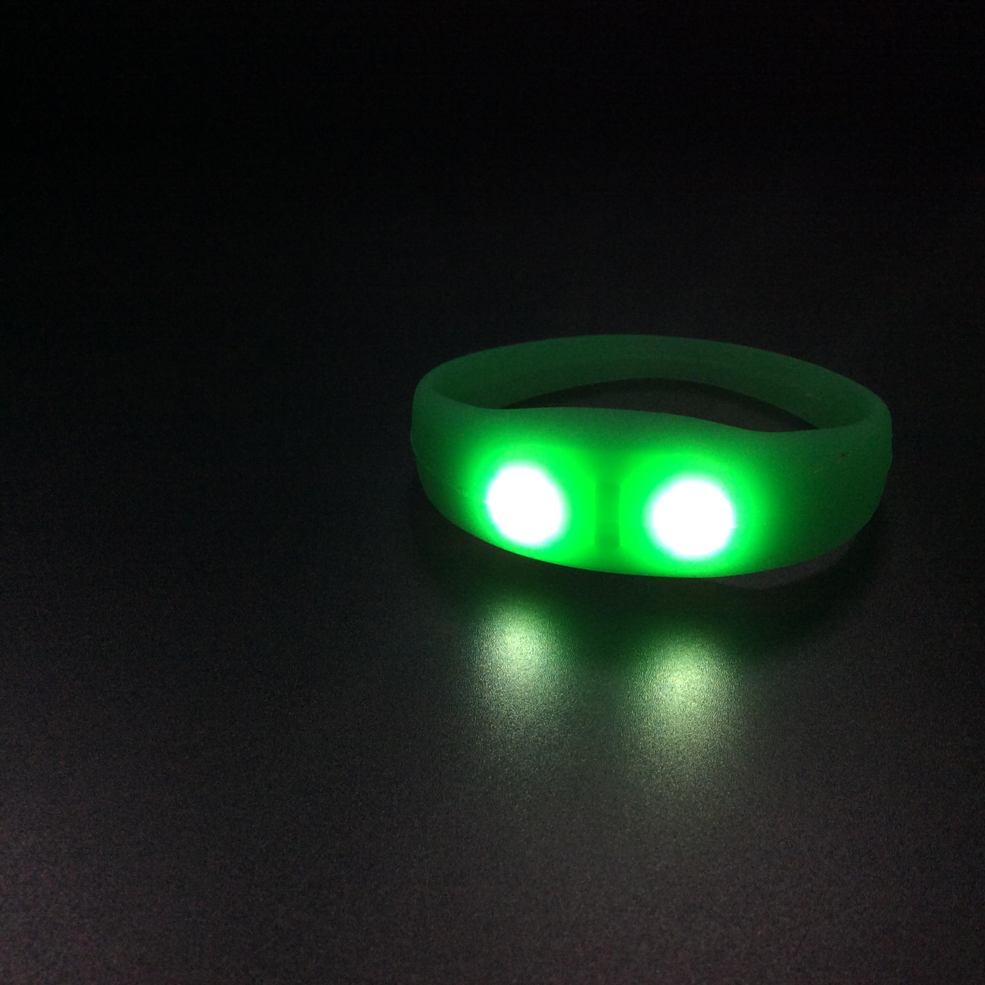 Personality LED silicone bracelet