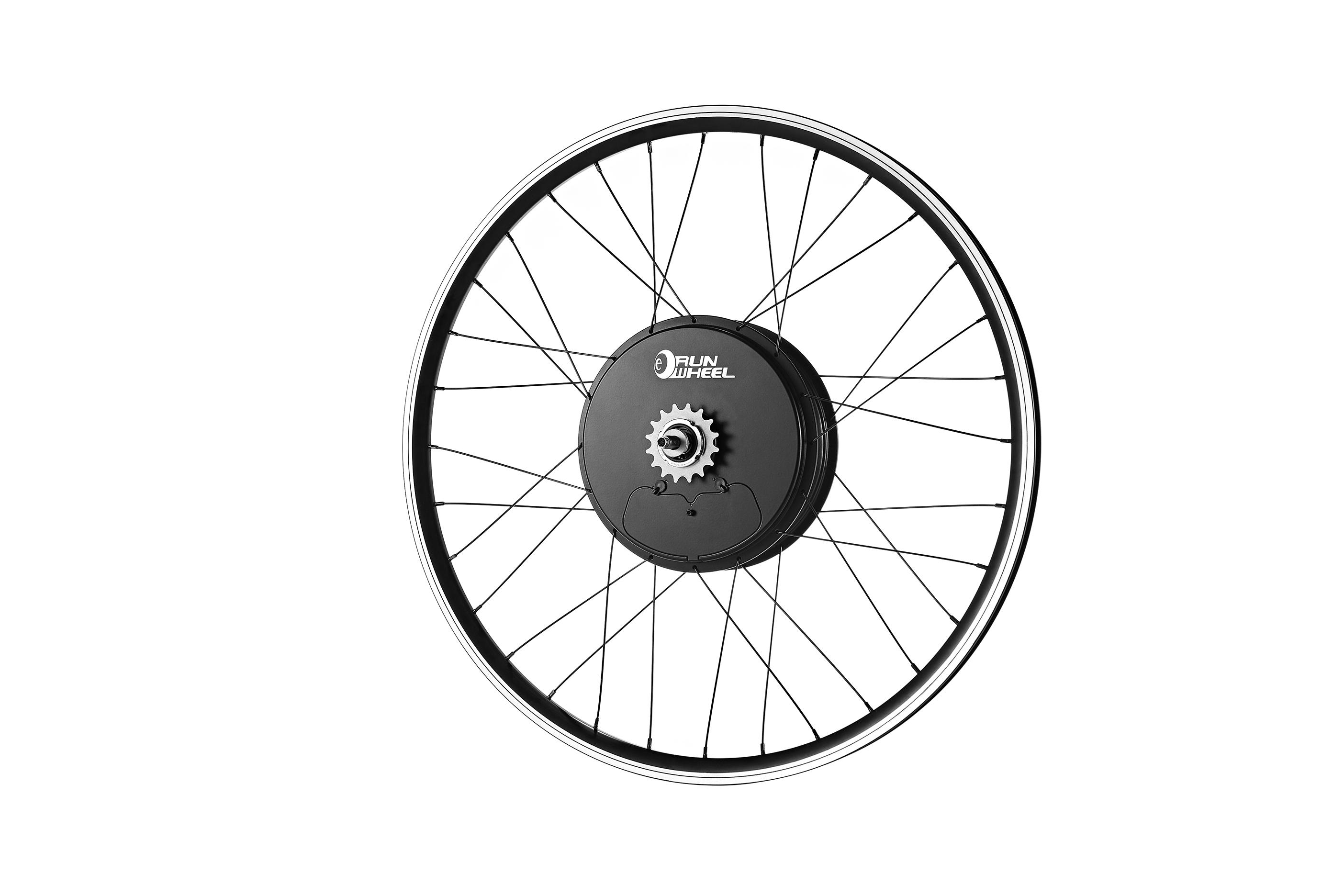 ebike hub motor, electric bike wireless all in one rear hub motor wheel