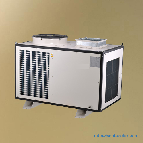 4 Ton Mobile spot air cooler for service room and telecommunication equipment cabinet