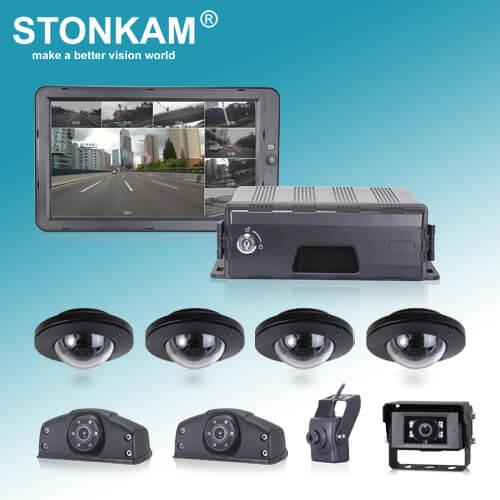 STONKAM 8 Channel HD 1080P Car DVR