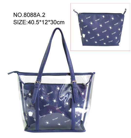 Women's Water-proof Tote Shiny Handbag from china manufacturer