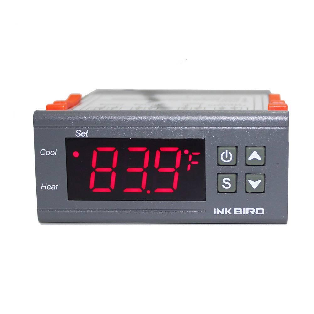 Inkbird 110V All-Purpose Digital Temperature Controller Fahrenheit &Centigrade Thermostat w Sensor 2