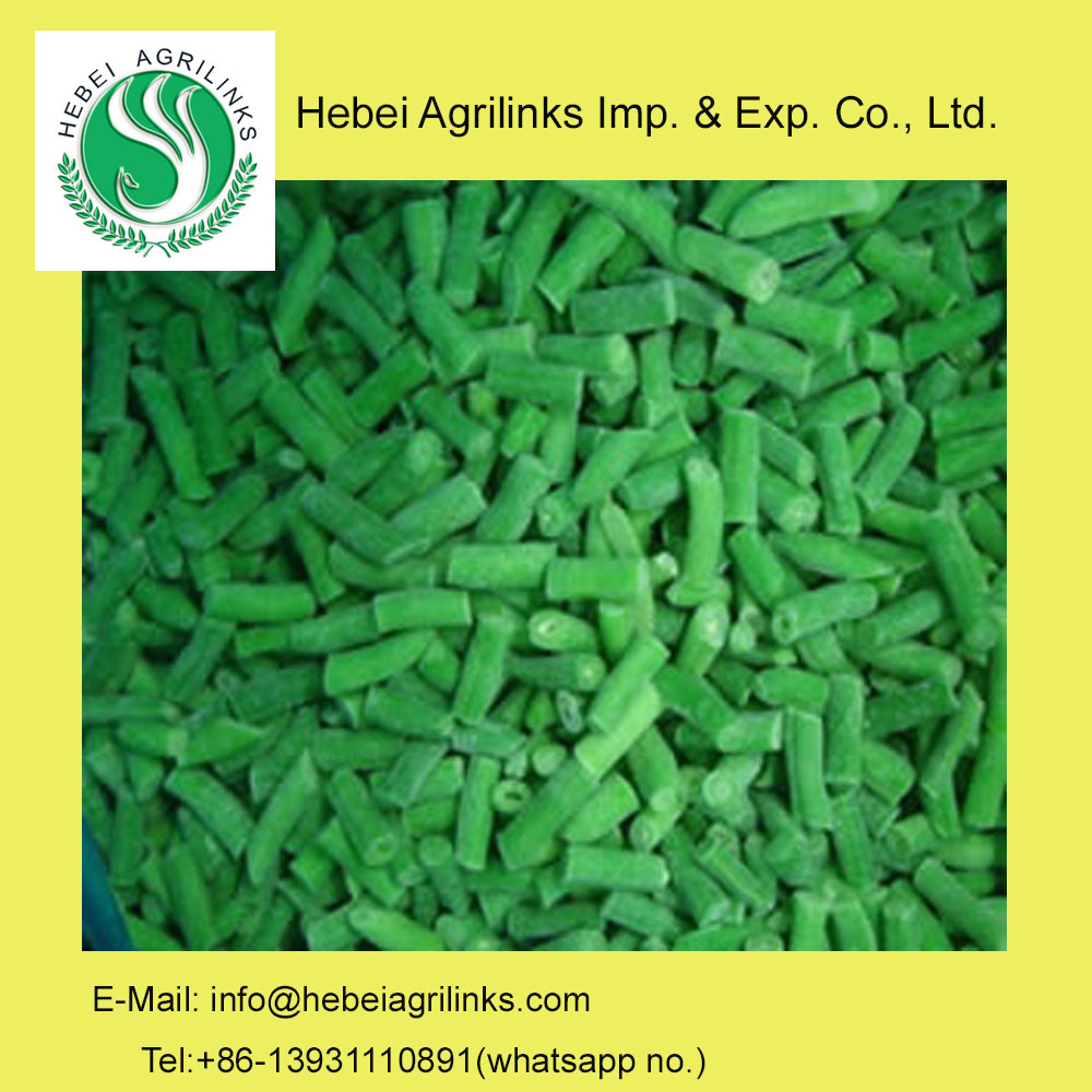 IQF Frozen Green Bean Cuts