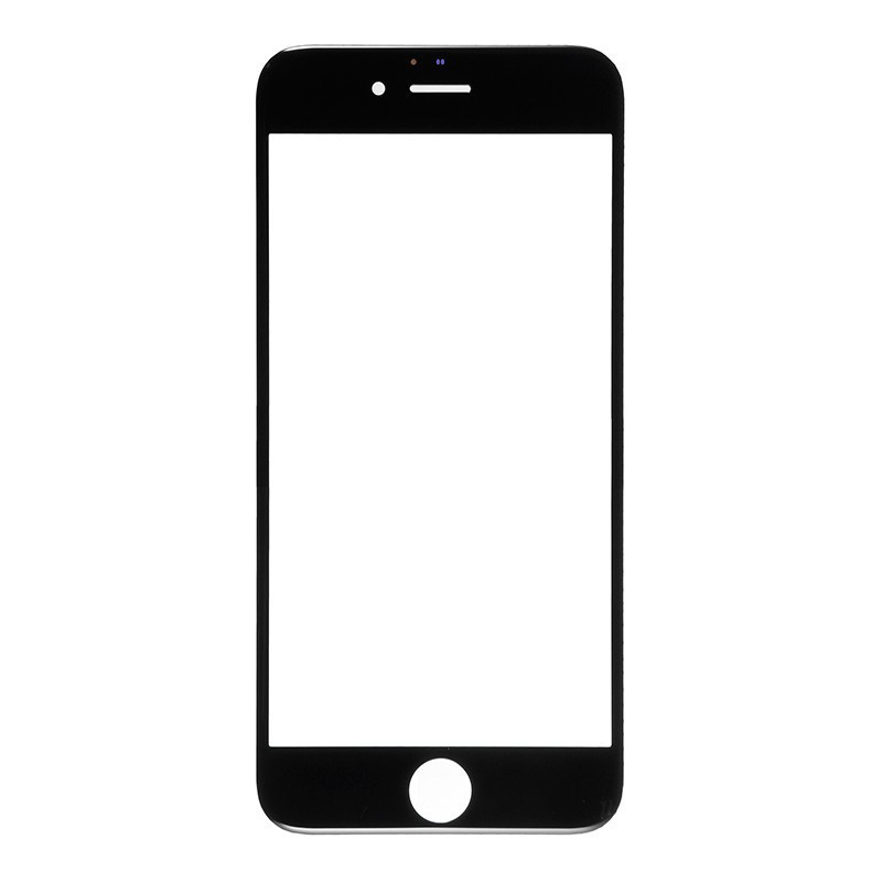 For Apple iPhone 6 Plus Glass Lens Replacement - Black