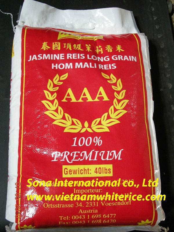 Jasmine rice 5% broken - rice mill - competitive price - skype - sonainter5