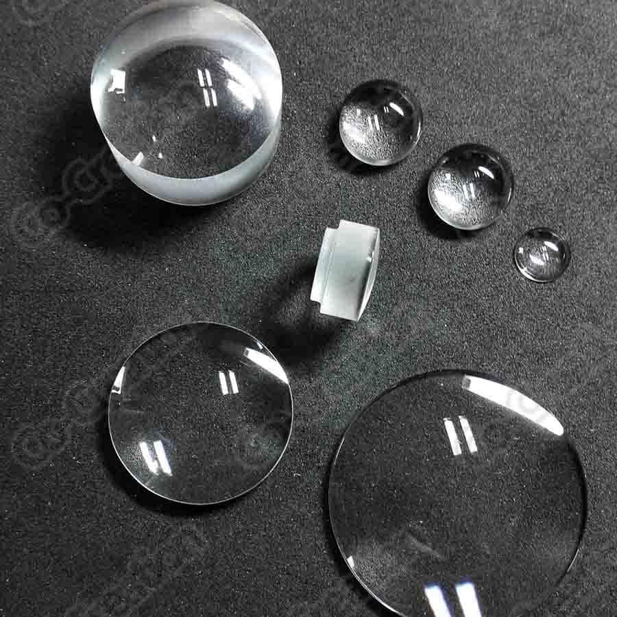Optical  lens watch glass quartz lens