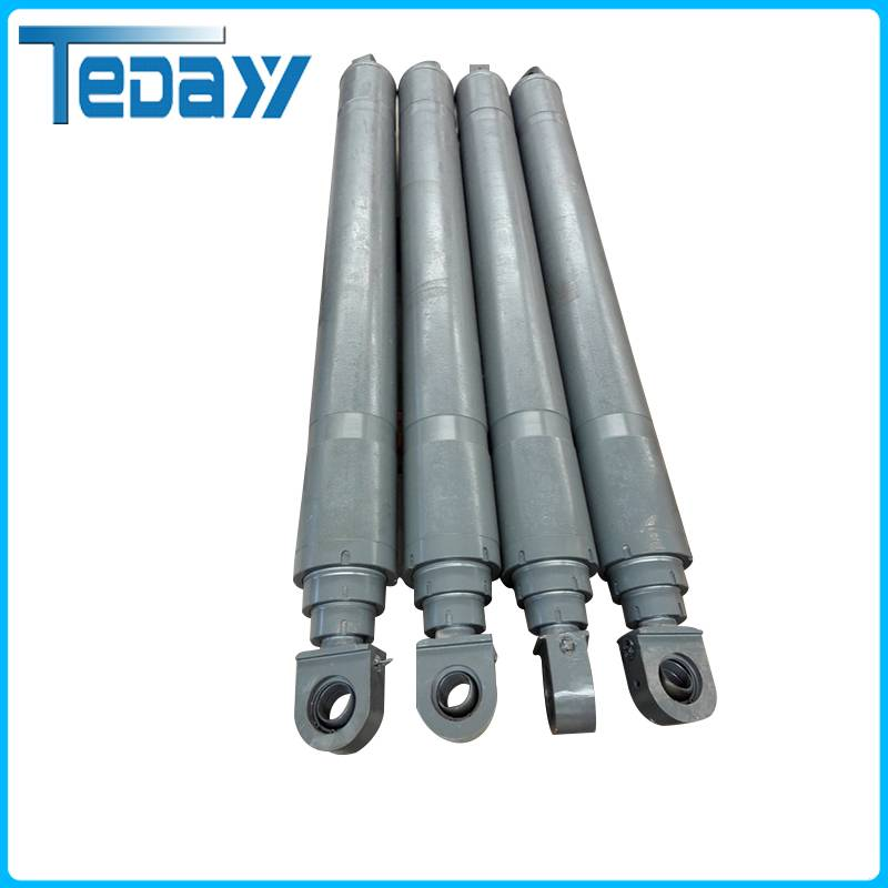 Multi-stage hydraulic oil cylinder