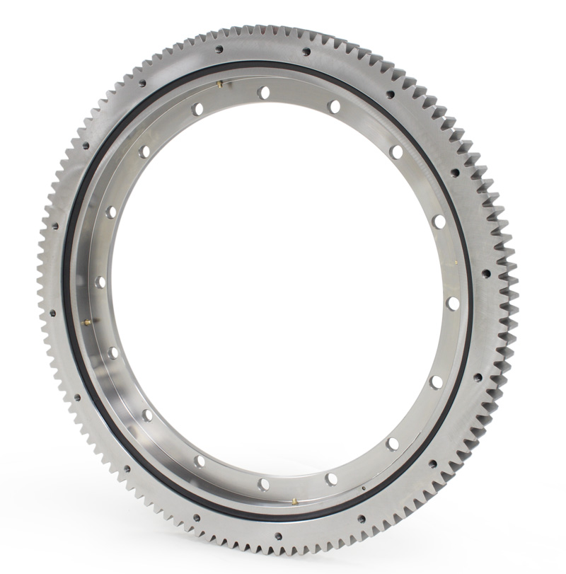 Water Treatment Slewing Ring Swing Slewing Bearing with Outer Gear Hardness 285-321bhn
