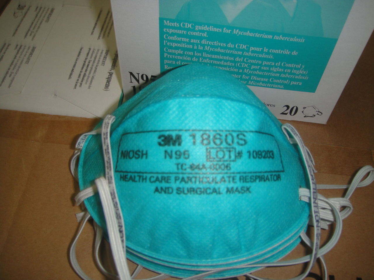 N95 face mask 3M wholesale