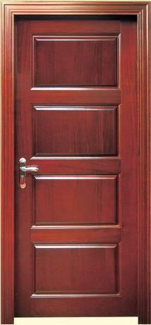 Cheap price solid wood door, oak wood door YHC-1313