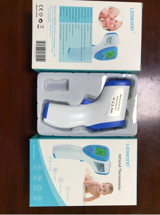 non-contact electronic thermometer with CE