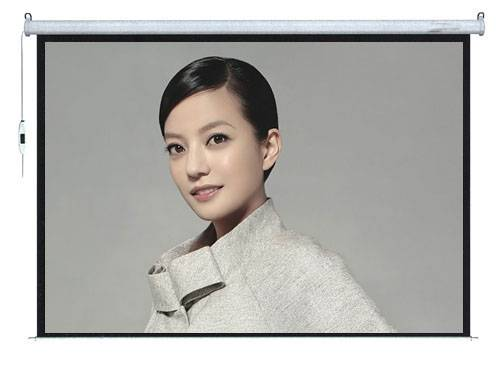 electric projection screen with matte white (RF remote control )