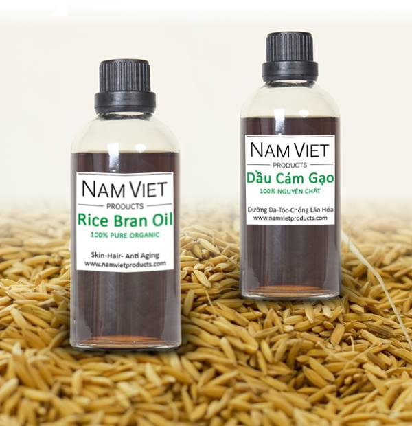 Pure Organic Massage Skin Care Anti Aging Rice Bran Oil