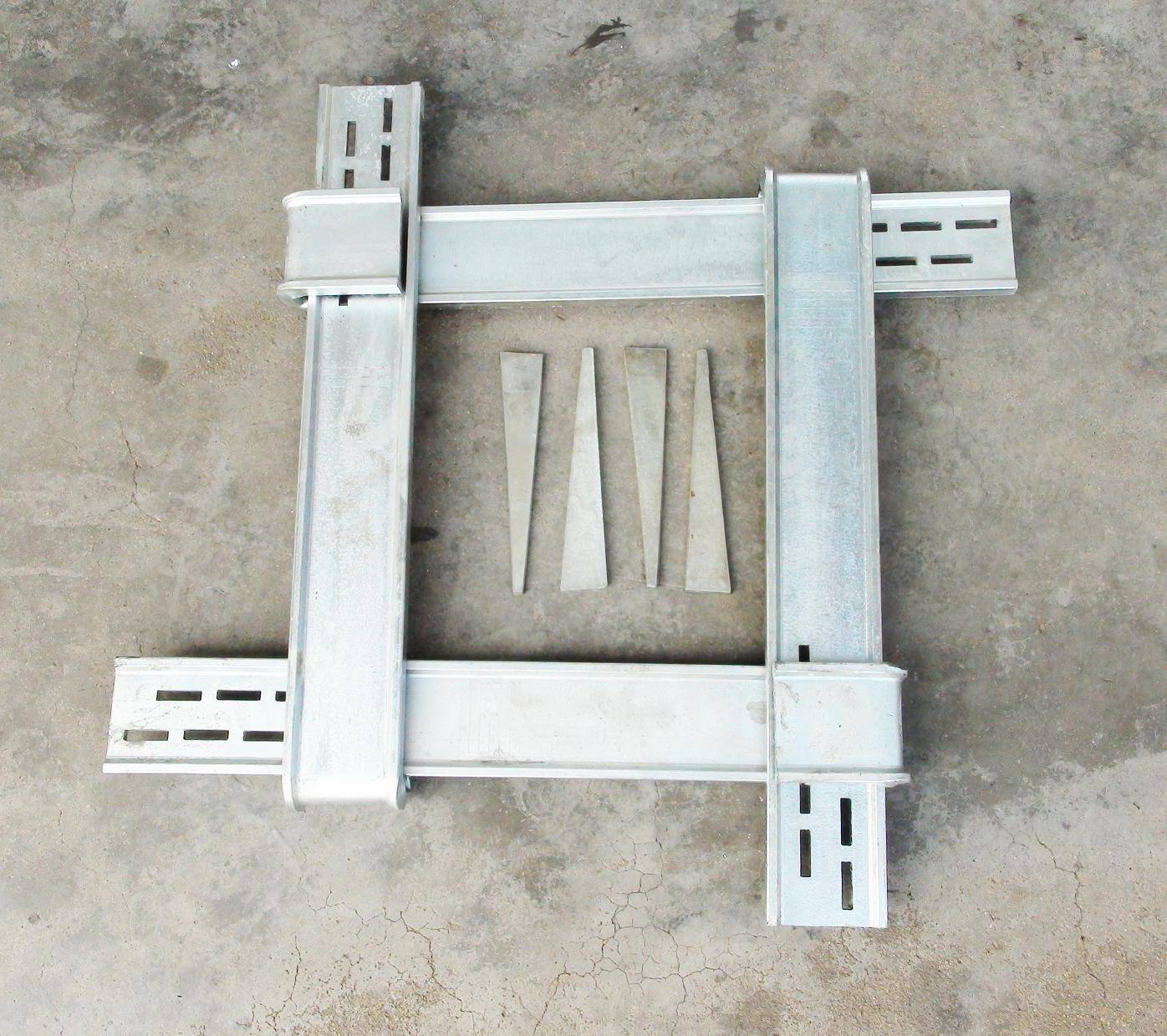 chinese construction material square column formwork ,formwork clamp ,formwork system with best pric