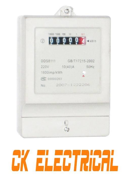 Single Phase Energy Meter,Kwh Meter,Power Meter  DDS8111