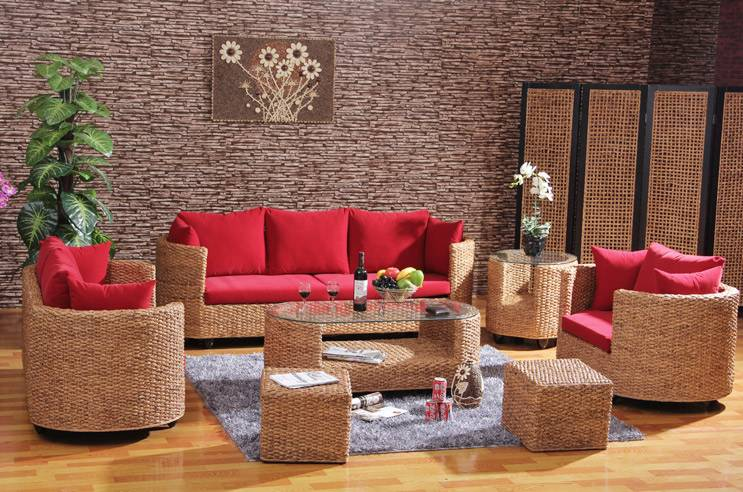 Home Rattan Furniture Living Room Sofa Sets