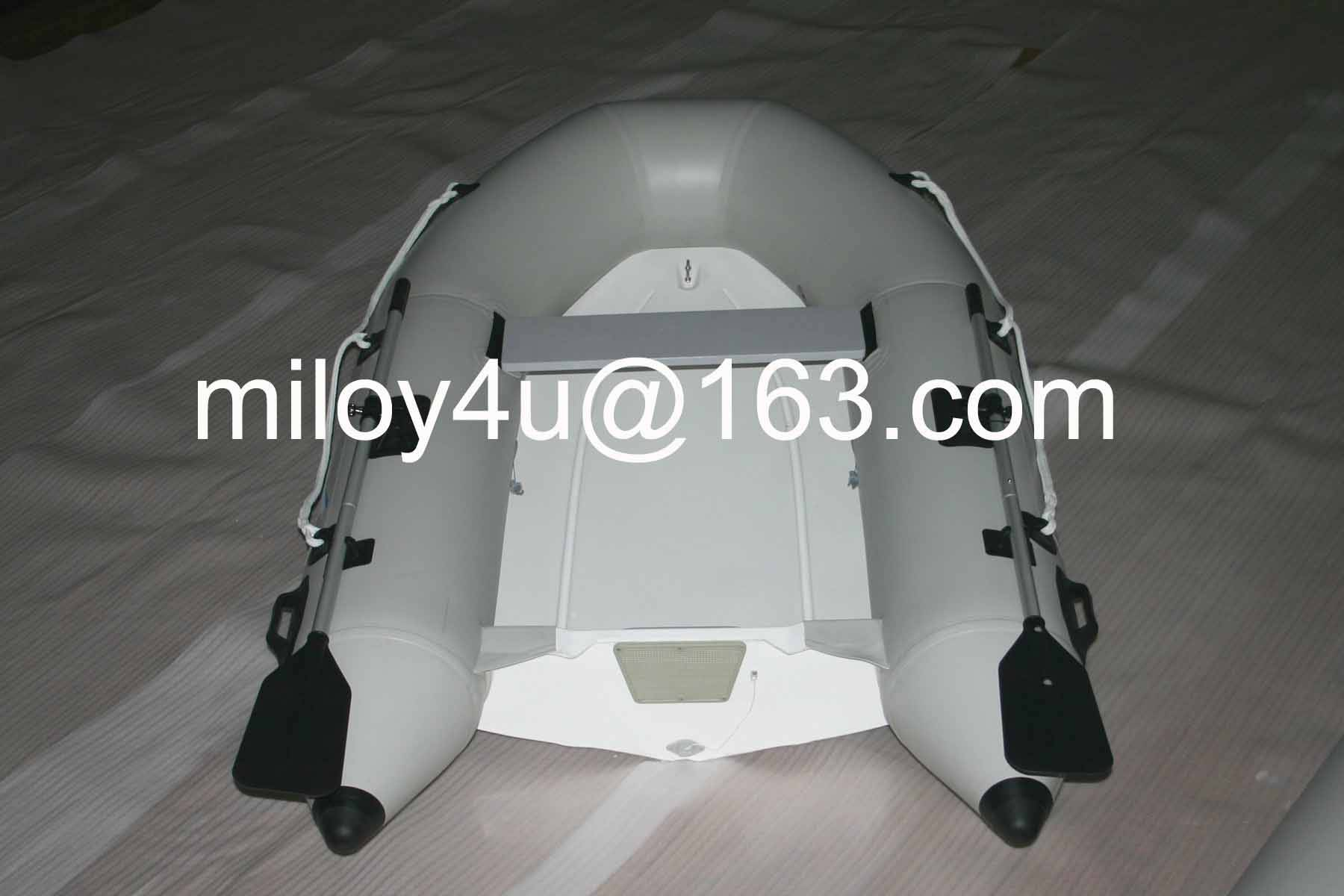 FRP hull Rigid inflatable boat