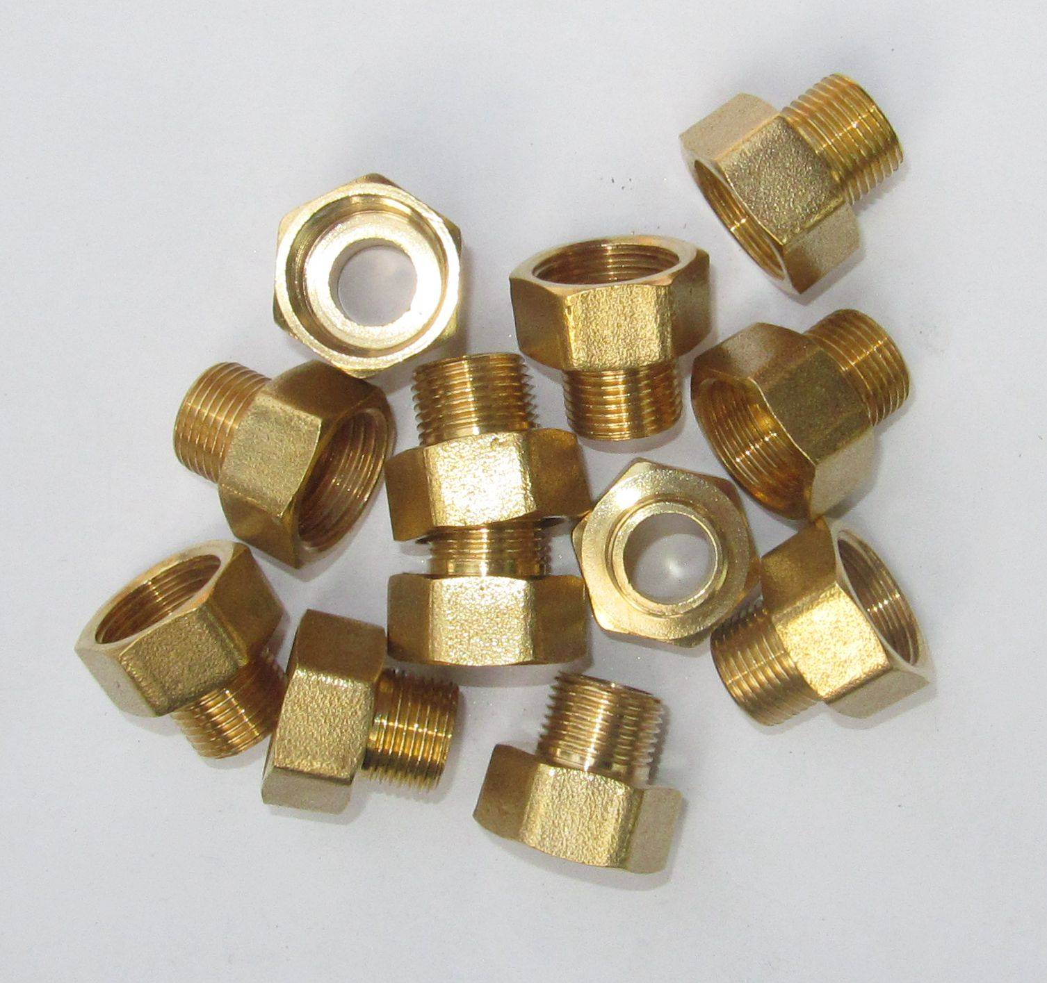 Brass female tee high quality brass tee  brass elbow