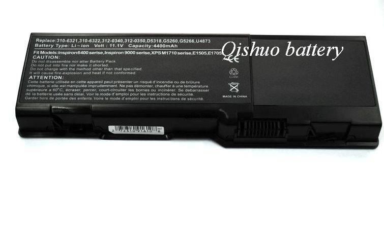 Laptop Battery for DELL Insiron 6400