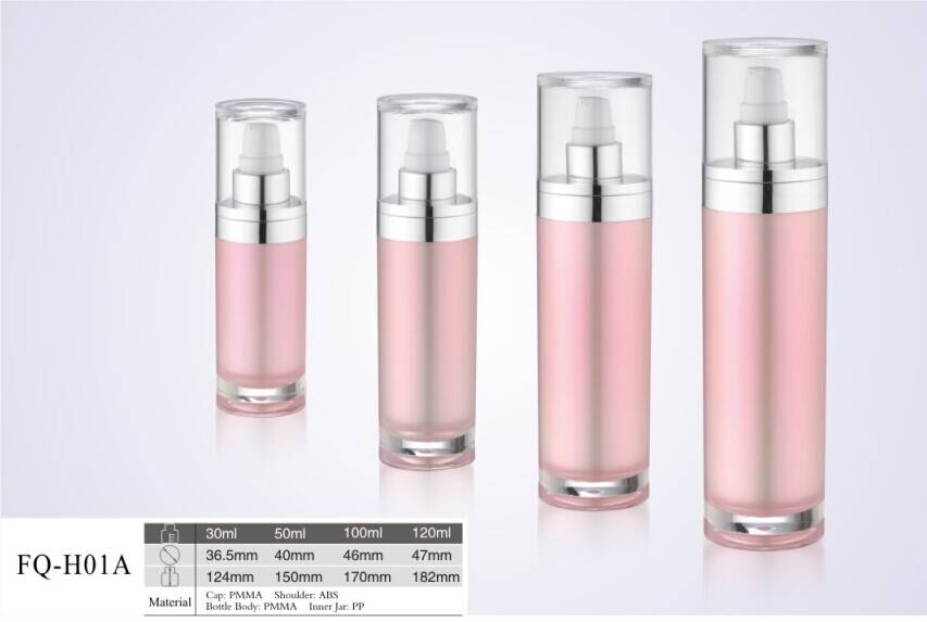 Fashion Eco-friendly classic empty lotion bottle for cosmetic use