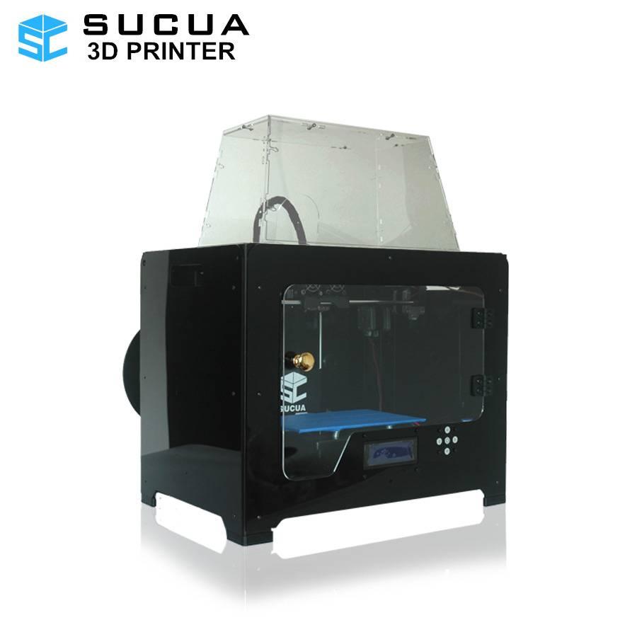 Dual Extruder 3D Printer Metal Frame 3D Printer High Precision PLA