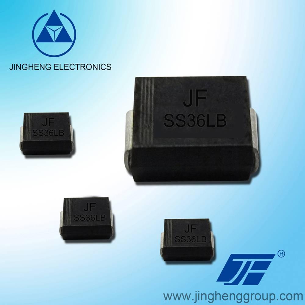 jingheng brand low vf schottky diode SS36LB