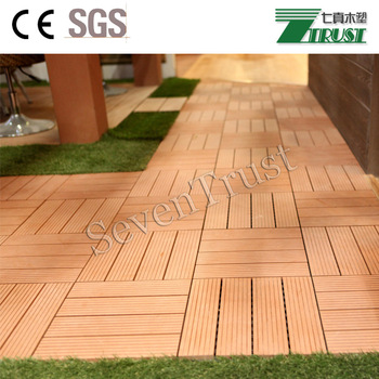 Europe standard synthetic wood DIY WPC decking