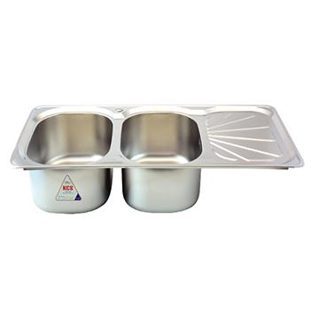Stainless steel kitchen sink - Rossi Economic - RA03