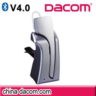 Dacom New arrival long standby time Fashionable Top Sale wireless bluetooth carkit C001