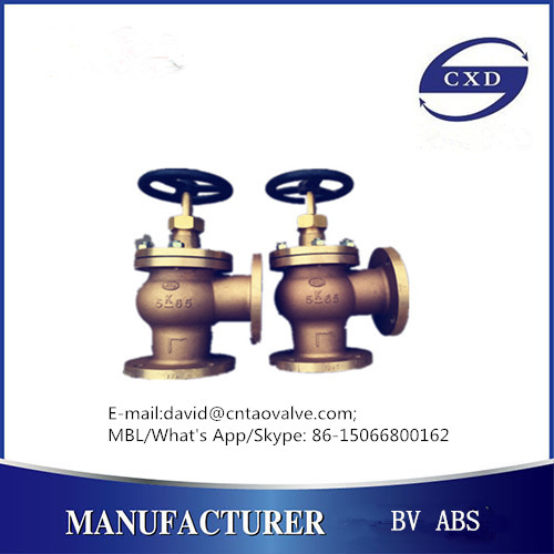 CXD brand JIS marine bronze or brass valve with BV and ABS