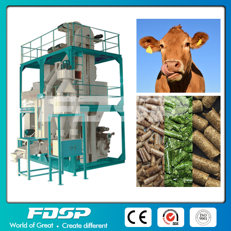 Complete Cattle Feed Pellet Mill Plant