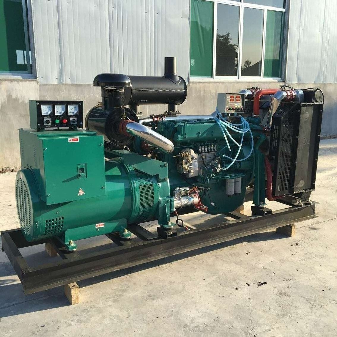 250kva diesel generator with steyr engines 6126 type construction applicationi