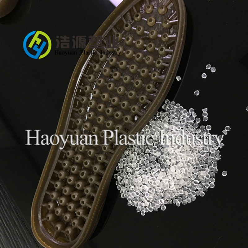 Eco-friendly PVC granules for outsoles use CaZn stabilizer