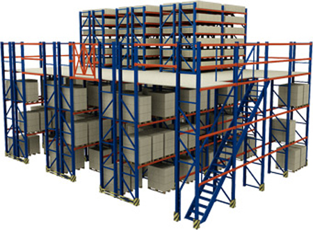 Multi-tier racking