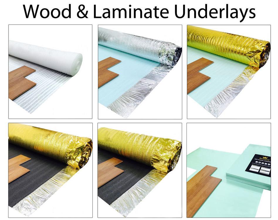 Soundproof Acoustic Floor Underlay