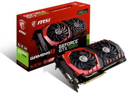 BUY GEFORCE GTX 1080 MSI GEFORCE GTX 1080 GAMING X EDITION WITH WARRANTY