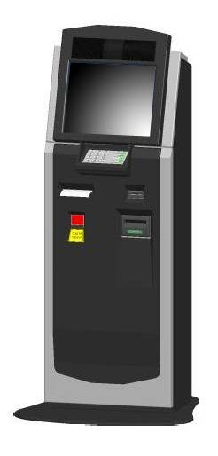 A9 Payment charge and barcode scaning selfservice terminal kiosk