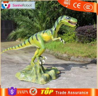 Customized Products Good quality made to order Dromaeosaurus Fiberglass Animate model