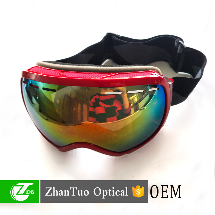 Ski Goggles Anti-Fog Lens Big Spherical Skate Snowmobile Snowboard Goggles