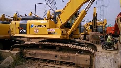 Used Komatsu PC270 Excavator Made in Japan 2010year